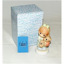 Precious Moments Figurine 2007 Love Wrapped Up In A Bow - #790007