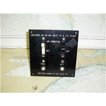Boaters' Resale Shop of TX 1504 2022.07 DOUBLE AIR CONDITION SWITCH PANEL