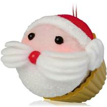Hallmark Series Ornament 2014 Christmas Cupcakes #5 - Sweet St. Nick - #QX9106