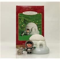Hallmark Ornament 2000 Frosty Friends Premiere Exclusive Set of 3 - #QX8524