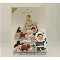 Hallmark Limited Keepsake Ornament 2009 Frosty Friends Parade - #QXE3055