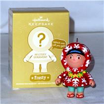 Hallmark Keepsake Mystery Ornament 2011 Aloha Frosty - Frosty Friends - #QK5009A