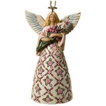 Jim Shore Heartwood Creek Ornament 2011 Breast Cancer Awareness Angel - #4024794