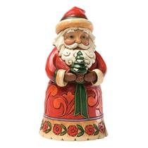 Jim Shore Heartwood Creek Figurine 2012 Pint Sized Santa with Tree - #4027707