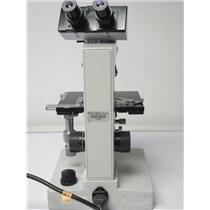 Ernst Leitz GMBH Wetzlar 020-446.024 SM-LUX Microscope w/4 Objectives,120V