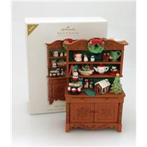 Hallmark Colorway / Repaint Club Ornament 2012 Mrs Claus' Cupboard - QXC5043-SDB