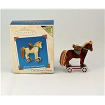 Hallmark Colorway / Repaint Ornament 2003 A Pony for Christmas - #QX8229C
