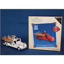 Hallmark Colorway / Repaint Ornament 2005 Fire Brigade #3 - 1938 Chevy - QX2035C