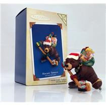 Hallmark Colorway / Repaint Ornament  2005 Hockey Thrills - #QX2152C