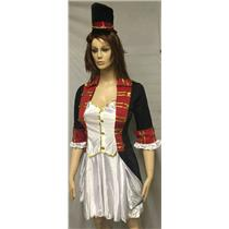 2PC Nutcracker Toy Soldier Sexy Plus Size Holiday Women's Costume 1X/2X 16-20