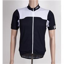 POC Men's Cycling Jersey Large Black/White