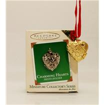 Hallmark Colorway / Repaint Miniature Ornament 2003 Charming Hearts #1 #QXM4939C