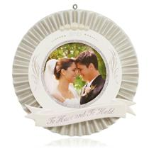 Hallmark Keepsake Ornament 2015 Our Wedding - Photo Holder - #QHX1107