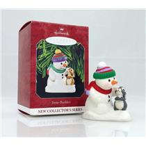 Hallmark Repaint Ornament 1998 Snow Buddies #1  Signed & Dated by Artist QX6853C