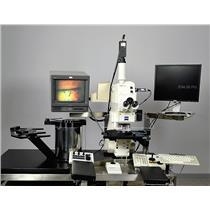 Zeiss Axiospect 200 Axiotron 2 CSM Confocal Microscope Wafer Inspection Vis-UV