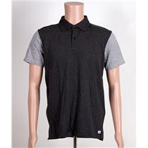Quiksilver Baysic Polo Shirt Gray Medium