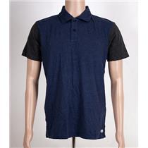 Quiksilver Baysic Polo Shirt Blue/Gray Medium