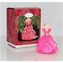 Hallmark Club Series Ornament 1998 Happy Holidays Barbie #3 - #QXC4493