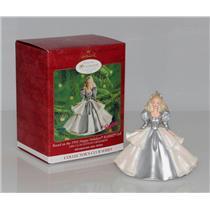 Hallmark Club Series Ornament 2000 Happy Holidays Barbie #5 - #QXC4494