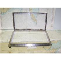 "Boaters' Resale Shop of TX 1607 2745.11 HINGED WINDOW WITH FRAME- 2"" x 11' x 20"""