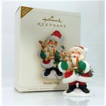 Hallmark Keepsake Limited Ornament 2006 Bunny Hug - #QXE3223-SDB