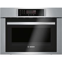 BOSCH 500 HMC54151UC 24 Inch 1.6 cu. ft Speed Oven Descriptive Image Pictures