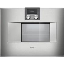 "GAGGENAU 400 Series 24"" Self-Cleaning 1.7 cu. ft. Combi-Steam Oven BS471611"