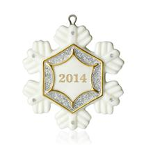 Hallmark Miniature Ornament 2014 Little Snowflake - #QXM8533