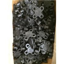 "(Lot of 100pcs) Alliance Plastics Flange Cover 300-1/2 1/2"" 300# NIB Black"