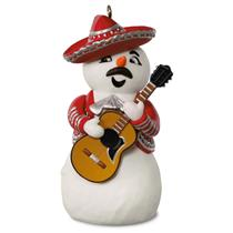 Hallmark Keepsake Magic Ornament 2016 Feliz Navidad - Snowman - #QGO1024