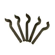 """Metal Stamp 5pc Set 10K - 14K - 18K - 22K Karat Gold & """"999"""" Hand-Punch-Bars"""