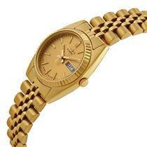 Seiko Womens SWZ058 GoldTone Day/Date.Lady Seiko Watch Retail $295 Sale $221.25
