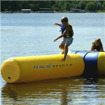 Rave Lake Ocean River Water Sports Small Aqua Log Trampoline Attachment 02003
