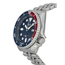 Seiko Mens Divers Watch SKX175 All Steel. Mechanical Automatic Movement. 200m
