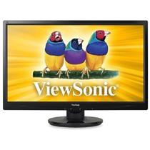 "ViewSonic VA2446m-LED 24"" Widescreen LED LCD Monitor, built-in Speakers"