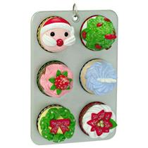 Hallmark Limited Keepsake Ornament 2016 Cupcakes for Christmas - #QXE3144