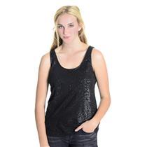 Sz S J. Crew Dr Gray Sequin Patterned 100% Cotton Dressy Knit Tank Top 49373