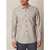 Prana Men's Reinhold Shirt Mud Medium