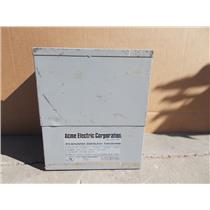 ACME 7.5KVA TRANSFORMER T-53615-1 SINGLE PHASE, 120/240V, 600V PRIMARY