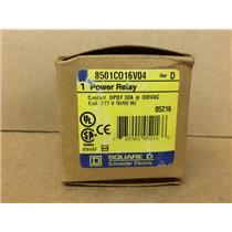 Square D 8501C016V04 Series D Power Relay 277V