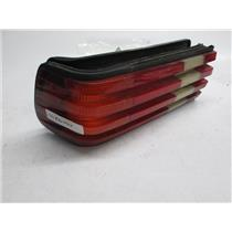 81-91 Mercedes W126 left tail light 380 300 500 420 560 SE SEL