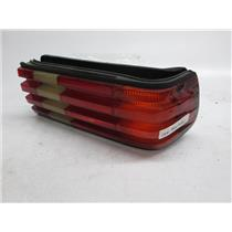 81-91 Mercedes W126 right tail light 380 300 500 420 560 SE SEL 1268201264