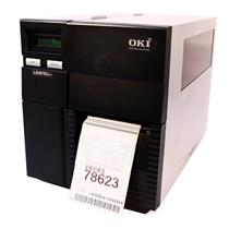 Oki LE810DT 92304105 Direct Thermal Barcode Label Printer USB Parallel 203DPI
