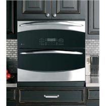 "NIB GE PROFILE PT925SNSS 30"" 5.0 cu. ft. DOUBLE ELECTRIC WALL OVEN SS/BLK"