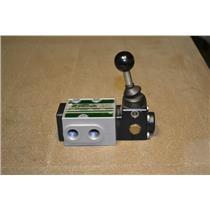 Walter Pneumatik SH 9302 Pneumatic Manual Valve, 0-16 Bar, 9110 Series