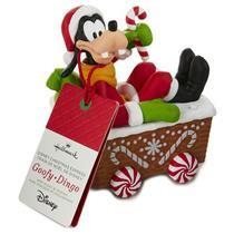 Hallmark Wireless Decoration 2016 Goofy - Disney Christmas Express - #XKT2132