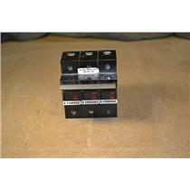(LOT OF 3) FERRAZ FUSE HOLDERS ST14 690V 50A BLACK