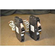 (Lot of 2) CH115GF Cutler Hammer Circuit breaker 15 AMP