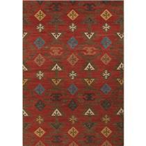 Makamani Rust Area Rug 5'x8' Reversible by AMER Rugs MODEL # FYD1165