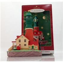 Hallmark Magic Series Ornament 2001 Lighthouse Greetings #5 - #QLX7572-DBWSL
